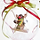 Thumbnail: Reindeer Christmas ornament
