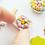 Thumbnail: Dollhouse miniature Easter cookies
