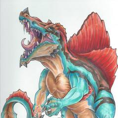 Spinosaurus Feraligus