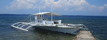 セブ島エルアクアリオのバンカーボート