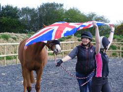 Flag training
