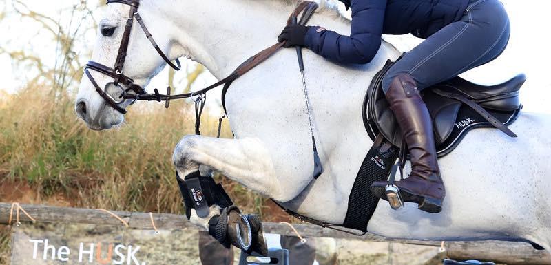 HUSK boots, saddlepad and girth