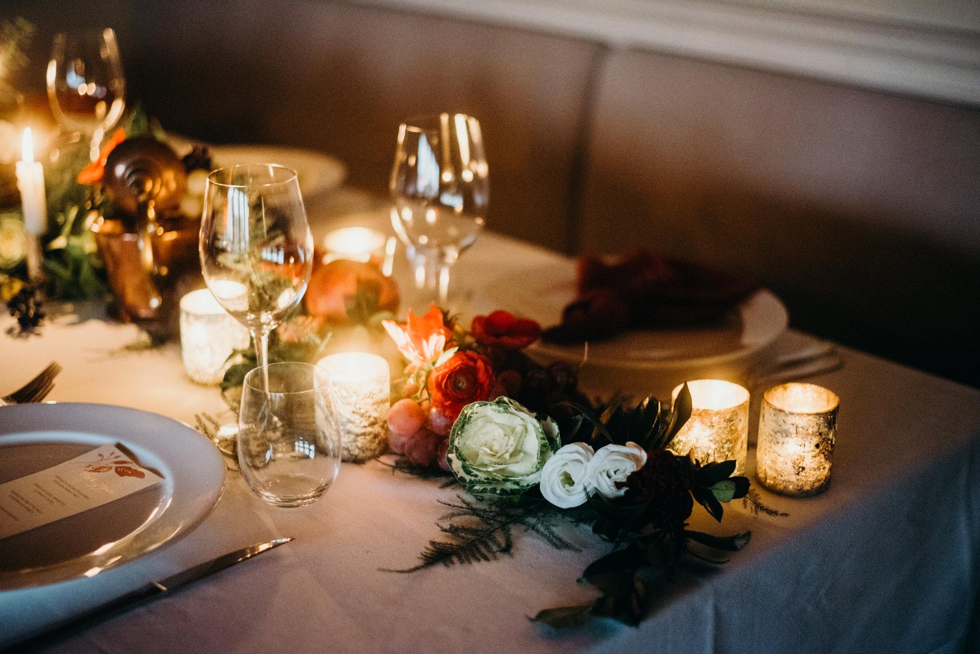 Dettaglio tavolo interno