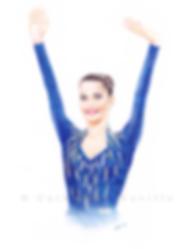 Elena Vitrichenko dessin, Elena Vitrichenko drawing, portrait de gymnaste, dessin de gymnaste, rhythmic gymnastics drawing, rhythmic drawing, gymnaste visage, gymnaste regard, gymnast face, gymnast look, portrait, portrait au crayon de couleur