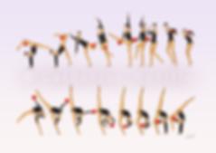 Dessin Catherine Nuville, Alina Maksymenko ball 2009, Alina Maksymenko dessin, Alina Maksymenko drawing, dessin gymnastique rythmique, rhythmic gymnastics drawing, rhythmic drawing, dessin gymnaste, gymnast drawing, rg sketches, rg art, rhythmic sketches, croquis gymnastique, croquis mouvement, gymnaste au ballon, rhythmic gymnast with ball