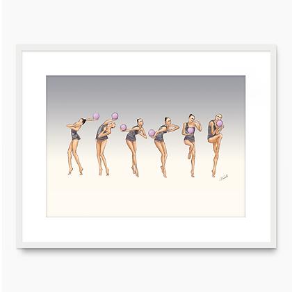 Anna Rizatdinova Movement 001 (A3 print)