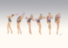 Dessins Catherine Nuville, Anna Rizatdinova ball 2012, Anna Rizatdinova dessin, Anna Rizatdinova drawing, dessin gymnastique rythmique, rhythmic gymnastics drawing, rhythmic drawing, dessin gymnaste, gymnast drawing, rg sketches, rg art, rhythmic sketches, croquis gymnastique, croquis mouvement, gymnaste au ballon, rhythmic gymnast with ball