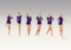Dessin gymnastique rythmique, rhythmic gymnastics drawing, rhythmic drawing, dessin gymnaste, gymnast drawing, rg sketches, rg art, rhythmic sketches, croquis gymnastique, croquis mouvement