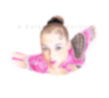 Galina Shyrkina dessin, Galina Shyrkina drawing, portrait de gymnaste, dessin de gymnaste, rhythmic gymnastics drawing, rhythmic drawing, gymnaste visage, gymnaste regard, gymnast look