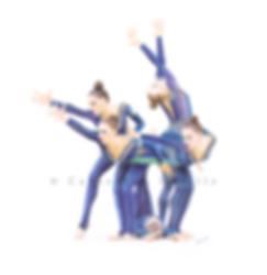 Dessin Catherine Nuville, Ukrainian group drawing, équipe d'Ukraine de gymnastique rythmique dessin, Ulraininan group drawing by Catherine Nuville, gymnastes aux cerceaux, gymnasts with hoops