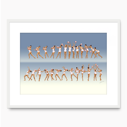 Margarita Mamun Movement 001 (A3 print)