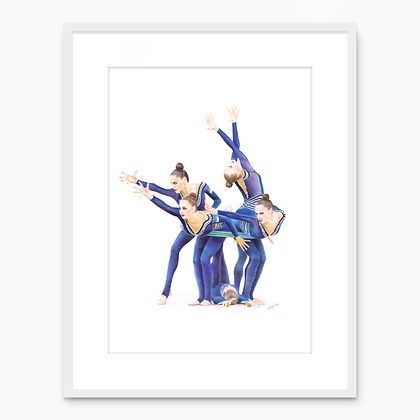 Ensemble d'Ukraine 001 (A4 print)