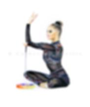 Alina Kabaeva dessin, Alina Kabaeva drawing, portrait de gymnaste, dessin de gymnaste, rhythmic gymnastics drawing, rhythmic drawing, gymnaste avec un ruban