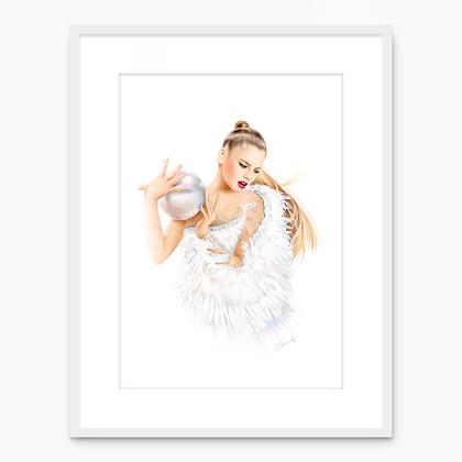 Aleksandra Soldatova Portrait 003 (A4 print)