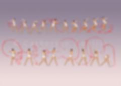 Anna Bessonova ribbon 2009, Anna Bessonova dessin, Anna Bessonova drawing, Dessin gymnastique rythmique, rhythmic gymnastics drawing, rhythmic drawing, dessin gymnaste, gymnast drawing, rg sketches, rg art, rhythmic sketches, croquis gymnastique, croquis mouvement, gymnaste au ruban, rhythmic gymnast with ribbon
