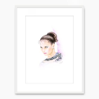 Elena Vitrychenko Portrait 002 (A4 print)