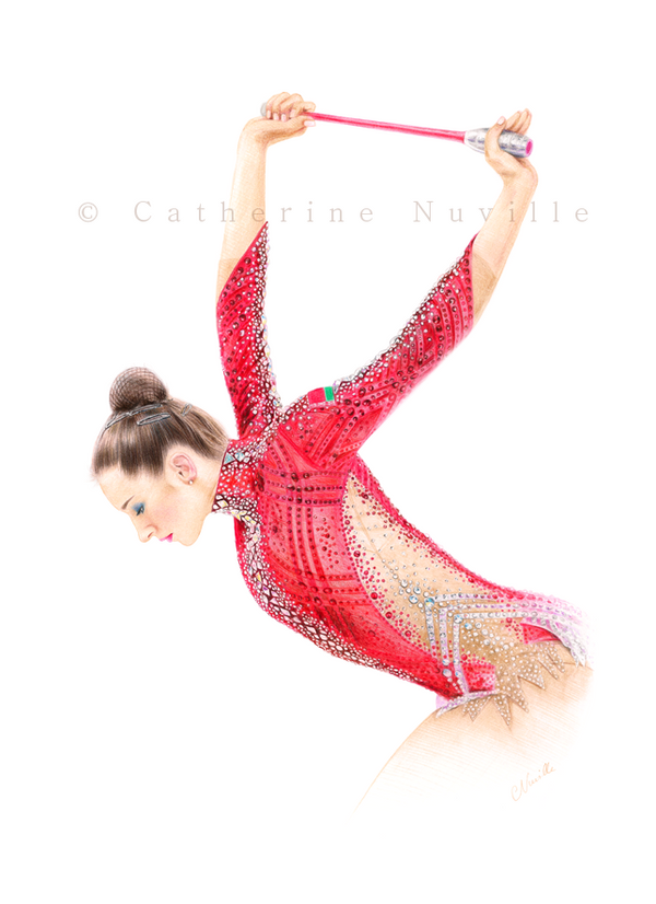 Katsiaryna Halkina clubs 2019 drawing