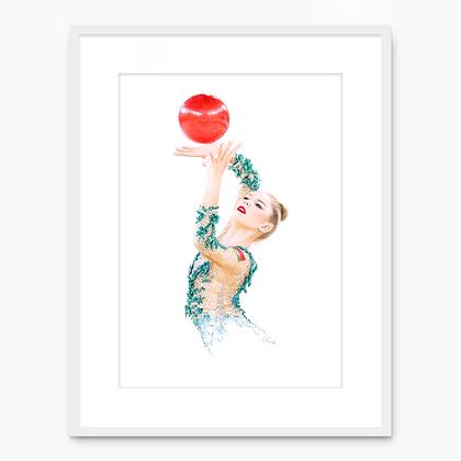 Anastasiia Salos Portrait 001 (A4 print)