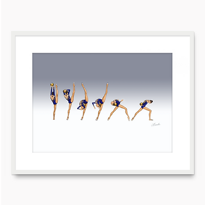 Yulia Raskina Movement 001 (A3 print)