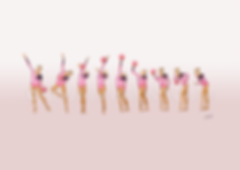 Dessin Catherine Nuville, Oksana Kostina ball 1992, Oksana Kostina dessin, Oksana Kostina drawing, dessin gymnastique rythmique, rhythmic gymnastics drawing, rhythmic drawing, dessin gymnaste, gymnast drawing, rg sketches, rg art, rhythmic sketches, croquis gymnastique, croquis mouvement, gymnaste au ballon, rhythmic gymnast with ball