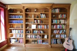 Classic oak book cases