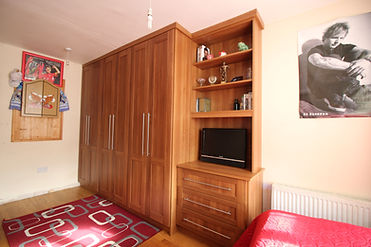 Custom fitted wardrobes, bedroom storage