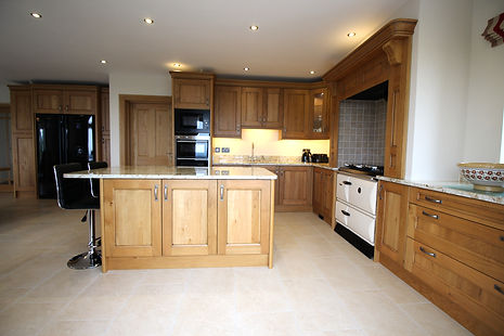 Kitchen Island, Country Style Kitchen, Oak Kitchen, Range Cooker