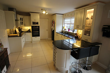 Open Plan Kitchen, Open Plan Kitchen Carlow, Breakfast Counter