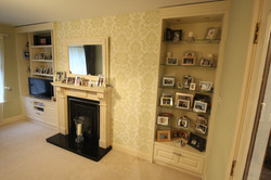 Photo display and TV Unit