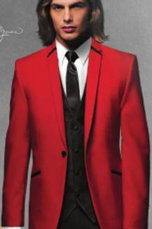 Red Illusion Tuxedo