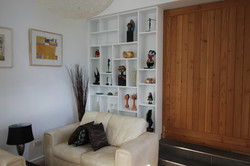 Livingroom Display Unit/Shelves