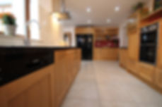 Painted Shaker Kitchen, Grey Shaker Kitchen, Custom Kitchen Carlow