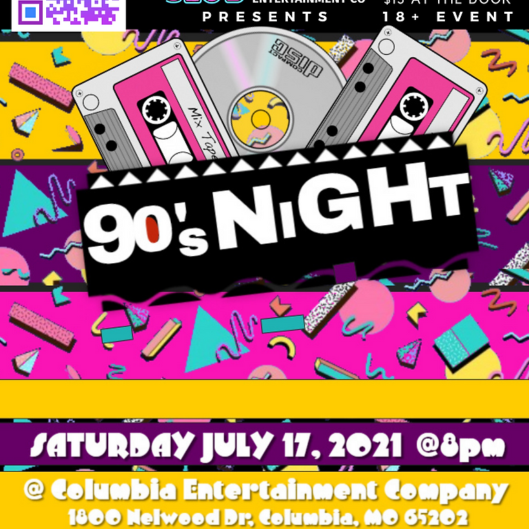 90s Night @ The CEC