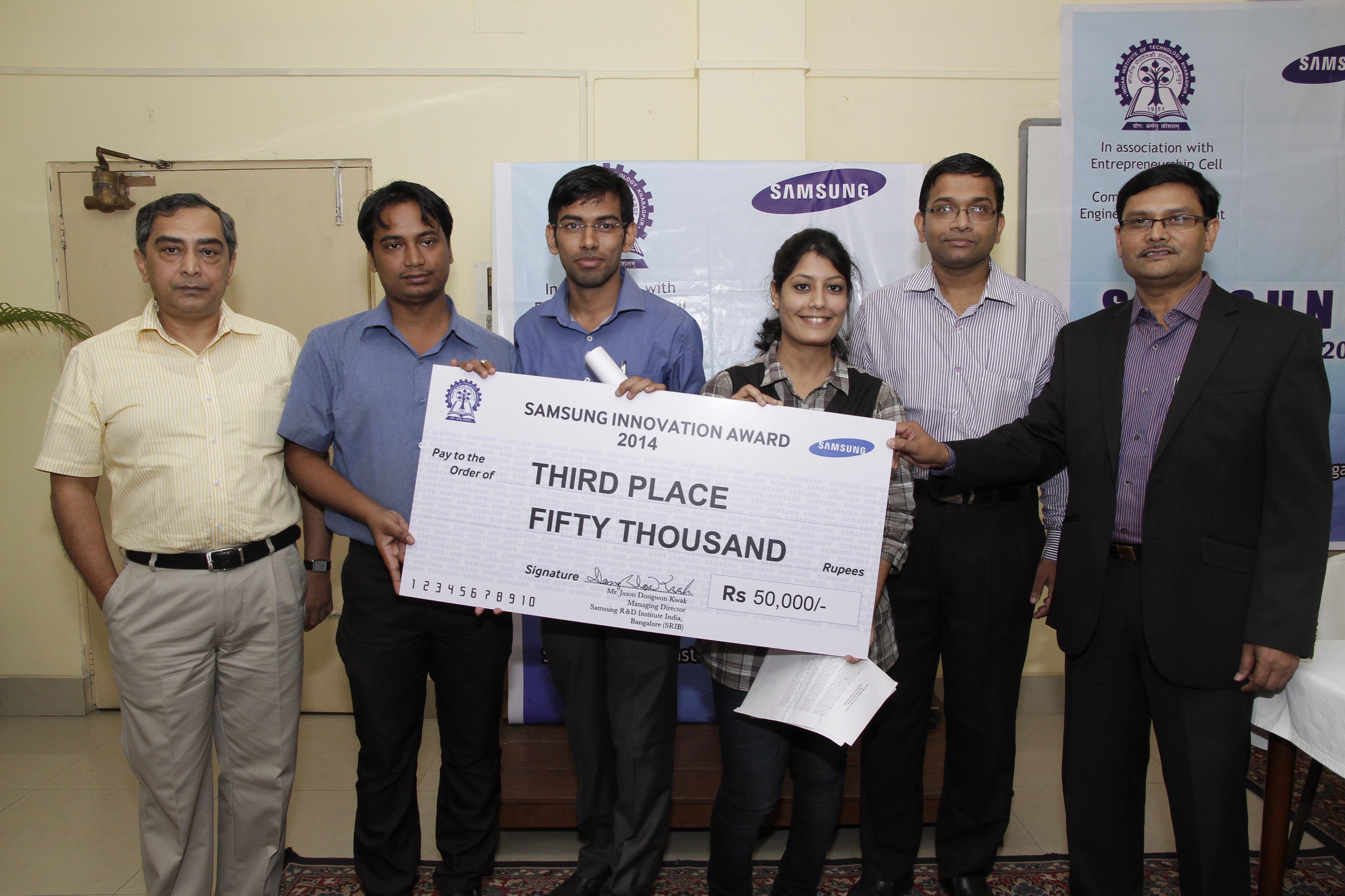 Samsung Innovation Award, 2014
