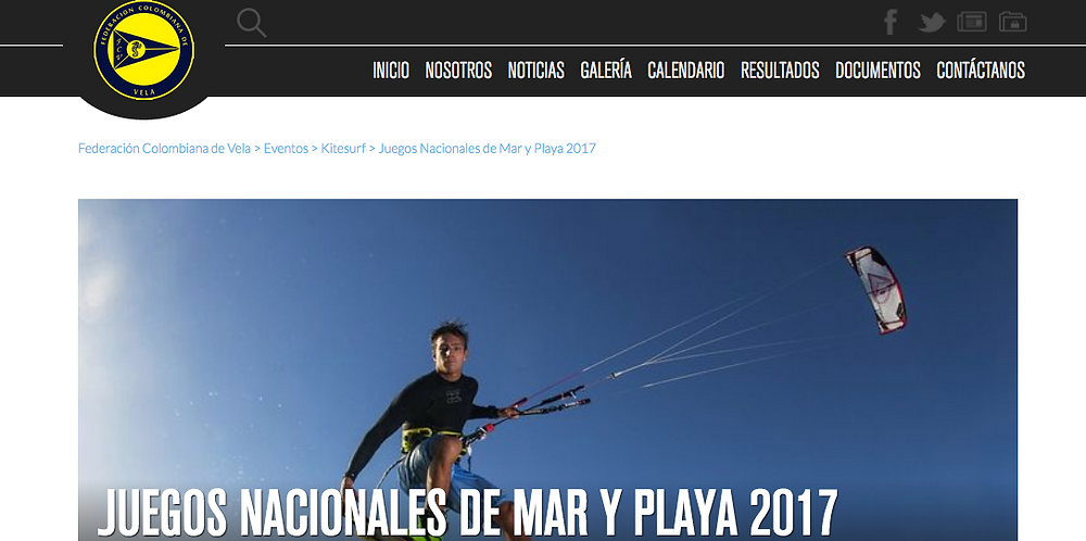 Optimist, windsurf y kitesurf, dentro de los Juegos Nacionales de Mar y Playa