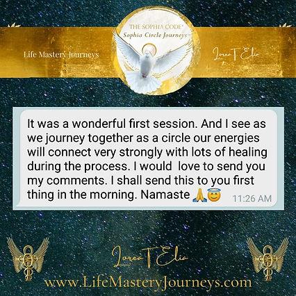 rebecca on sophia circle journey1st day lorea elia lifemasteryjourneys.jpg