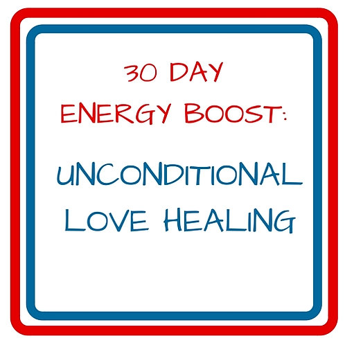 1 MONTH DAILY ENERGY BOOST UNCONDITIONAL LOVE