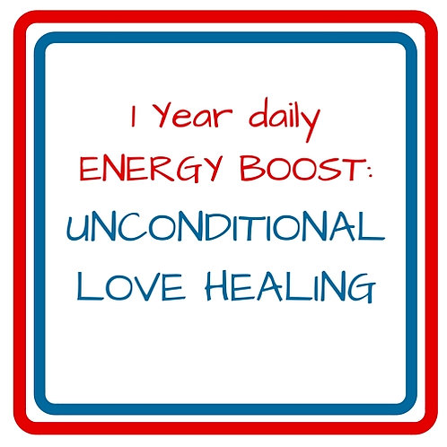 1 YEAR DAILY ENERGY BOOST UNCONDITIONAL LOVE