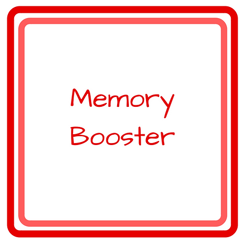 Super Boost Your Memory