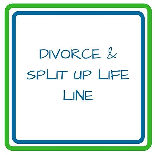 Divorce and Split up Life Line
