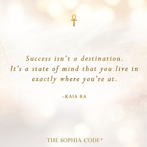 sophia code success, sophia circle journey