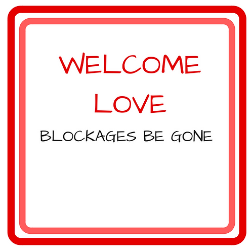 Clear Blockages to Love