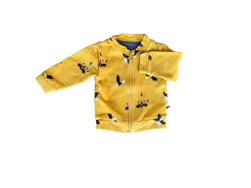 Gele trui met vogels - NSY (93)