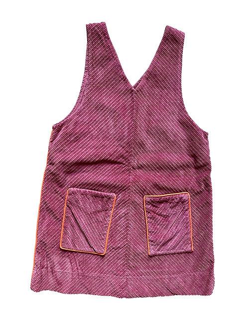 Salopette jurk - Hilde en Co - 122/128  (83.6)