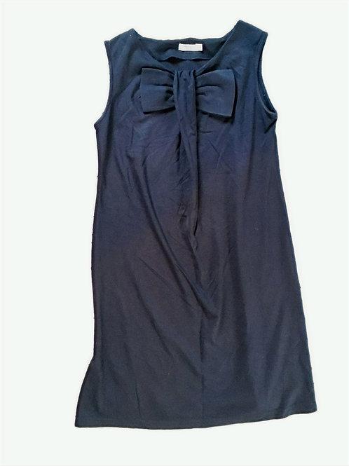 Blauwe jurk met strik - Fragile (645)