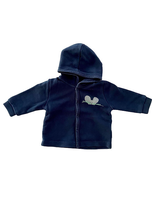 Sweater met drukknoopjes - Baby filou - 56 (4909)