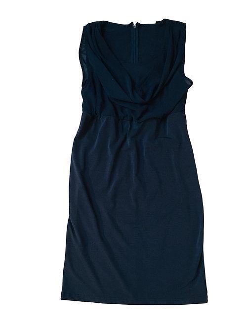 Blauwe cocktail jurk - Mamalicious (artikel 82)