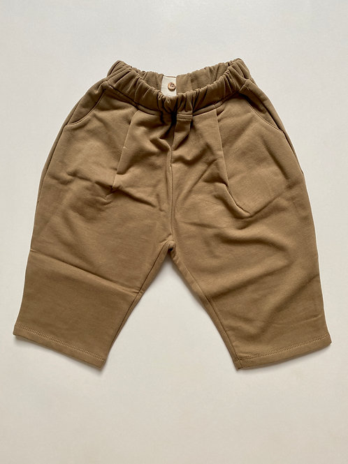 The Cosy Trouser - Walnut - The Simple Folk
