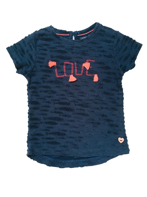 T-shirt donker blauw - Babyface (530)