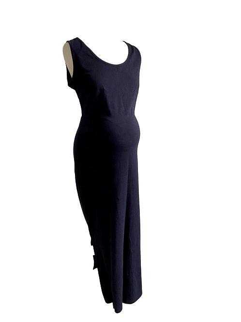 Maxi jurk blauw- Fragile - L  (77.8)
